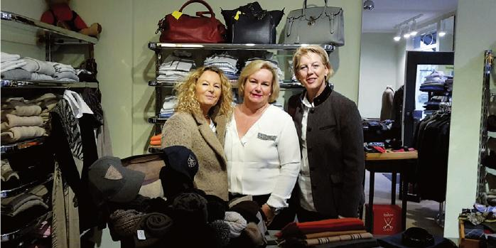 Anette Westendorp, Katrin Weißbrod und Birgit Euler- Engelhardt von Markt 26 freuen sich auf den 19. November