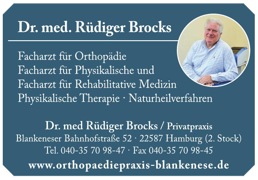 Orthopädie Praxis Dr. Rüdiger Brocks
