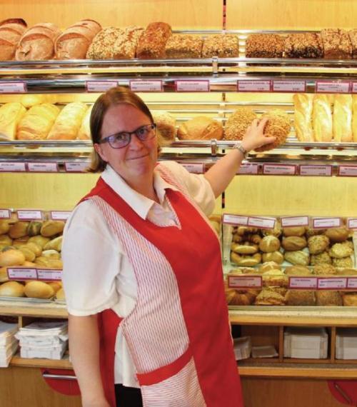 Barbara Großekatthöfer von der Bäckerei Hansen in Blankenese