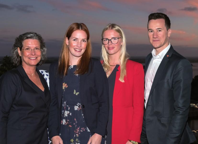 Ann-Katrin Martinsen, Janina Daum, Sandra Koester, Dennis Kanig