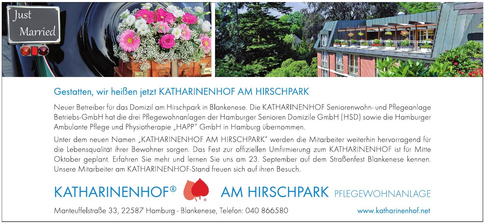 Katharinenhof am Hirschpark