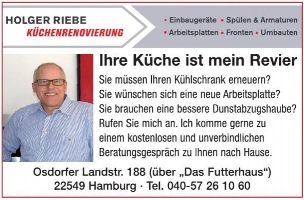 Holger Riebe Küchenrenovierung