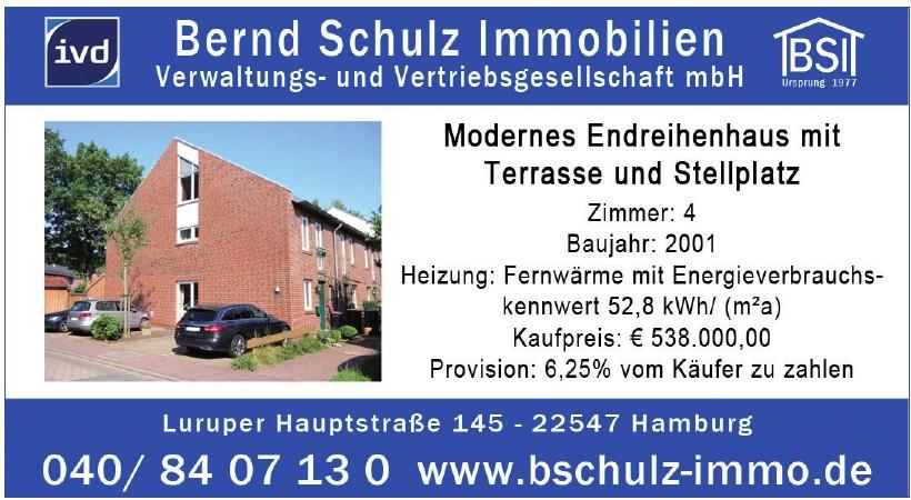 Bernd Schulz Immobilien Verwaltungs- und Vertriebsgesellschaft mbH
