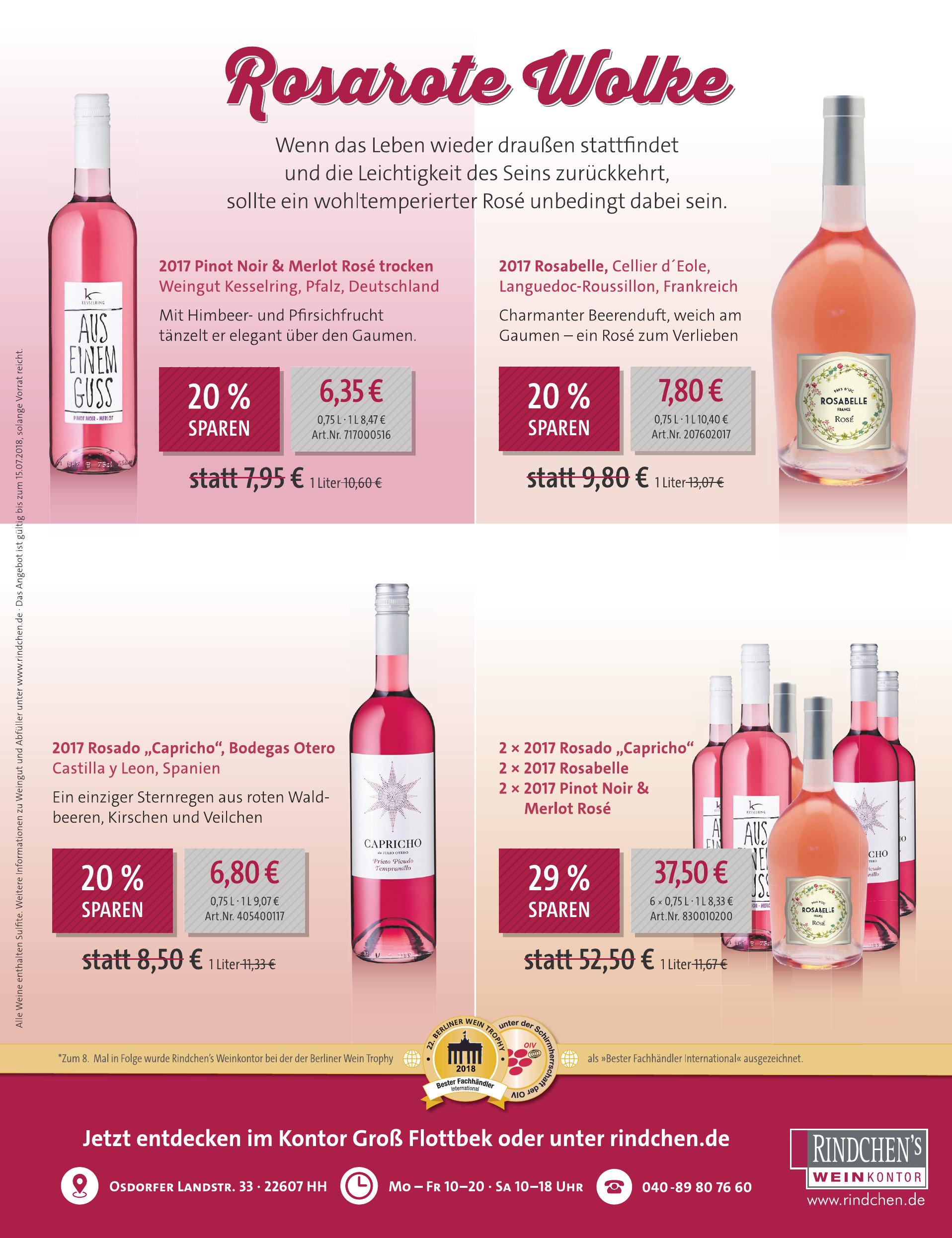Rindchen´s Weinkontor - Kontor Groß Flottbek
