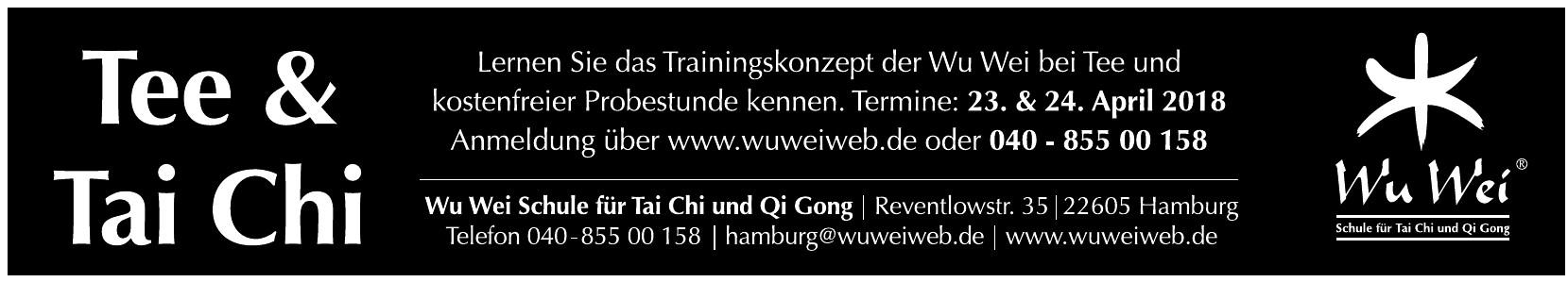 Wu Wei Schule für Tai Chi und Qi Gong