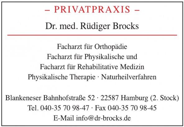 Dr. med. Rüdiger Brocks - Privatpraxis