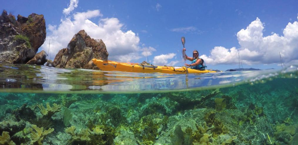 Einmal durch die Karibik