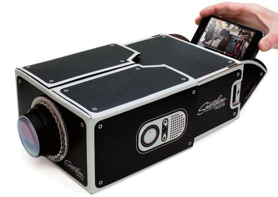 Der Projektor zum selbst Zusammenbauen