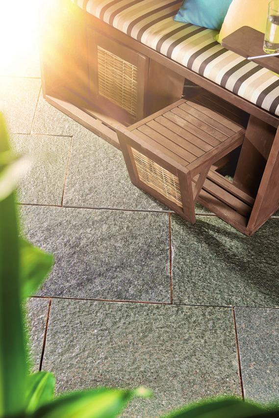 Italienischer Naturstein Spaccato Grigio FOTO: ©VOLKER NOTHDURFT