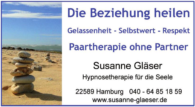 Susanne Gläser Hypnosetherapie