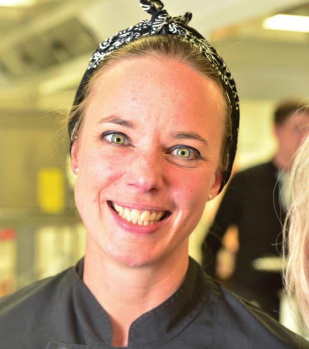 Sterneköchin Titti Qvarnström lässt sich in der Küche von ihrer Heimat Malmö in Schweden inspirieren