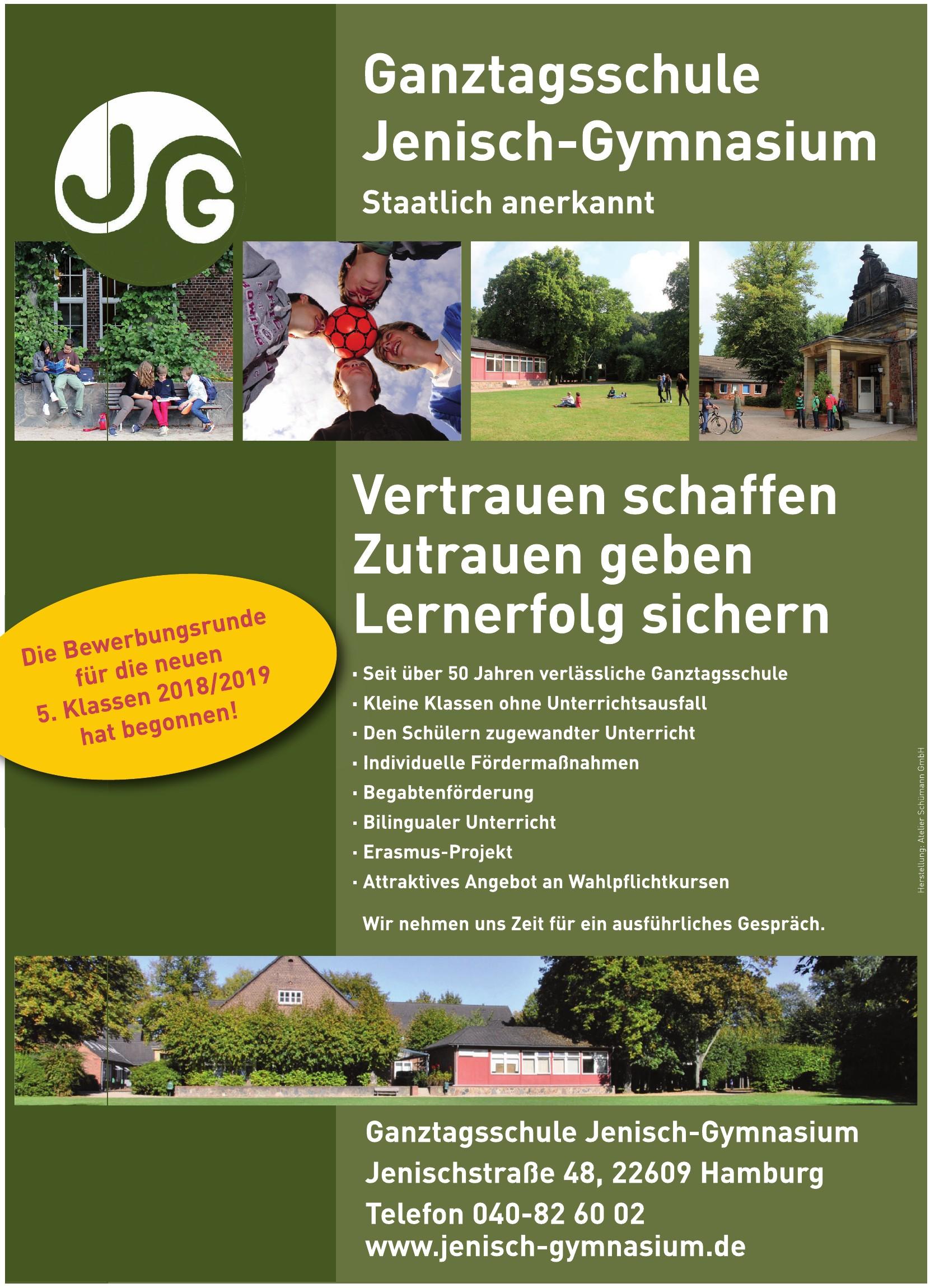 Ganztagsschule Jenisch-Gymnasium