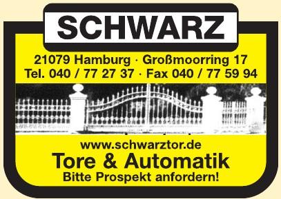 Schwarz - Tore & Automatik