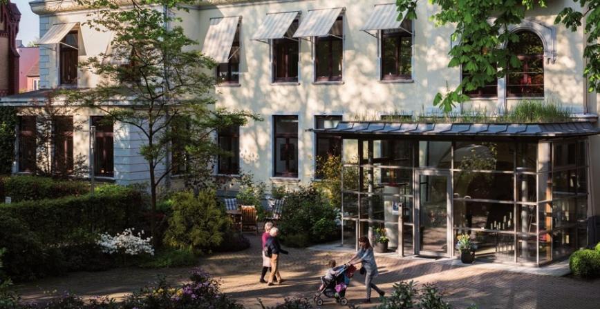 Im Hamburg Hospiz in Altona leben 16 stationäre Gäste FOTO: HEINRICH HOLTGREVE