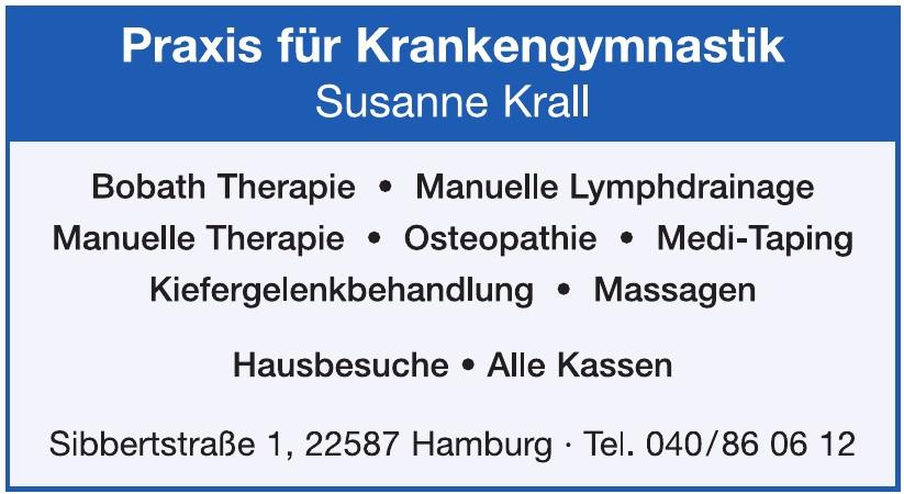 Susanne Krall, Praxis für Krankengymnastik