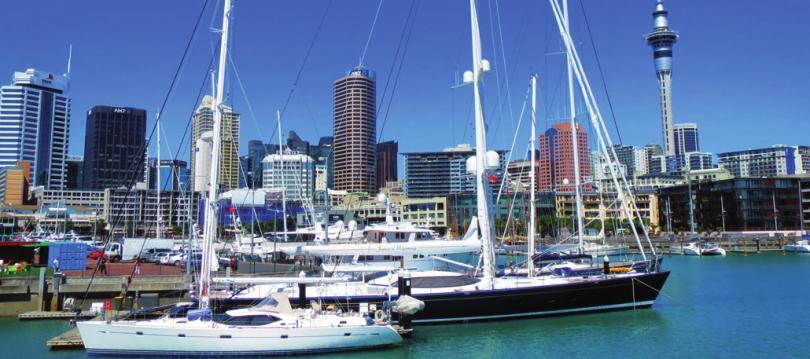 Schon bald am Auckland Harbour sein