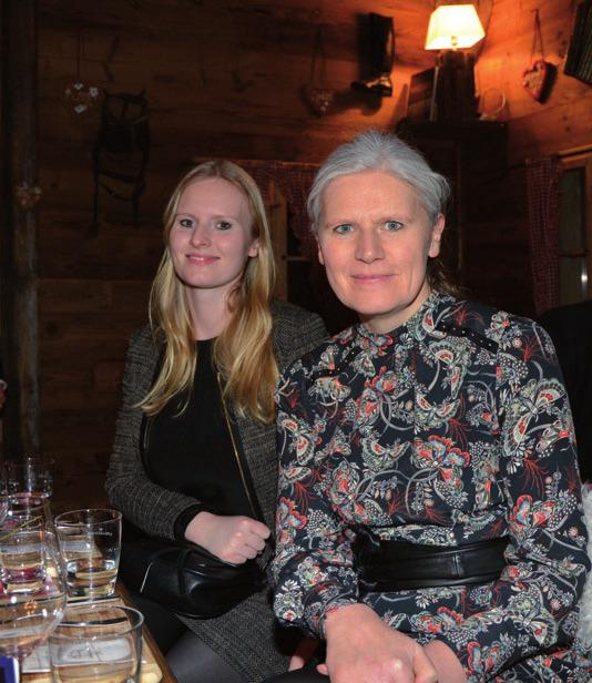 Jennifer Wieckhorst mit Karin Schlömer (BAT)