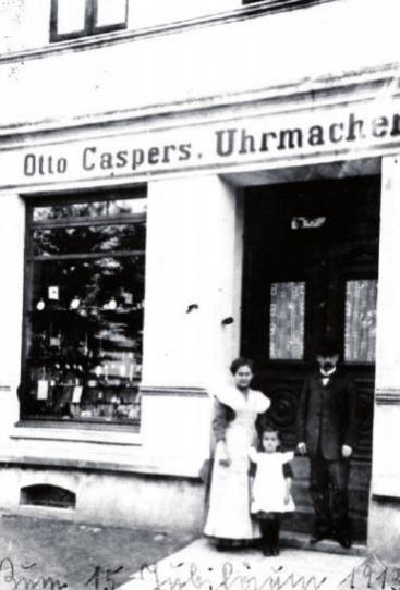 1898 gründete Otto Caspers sein Geschäft