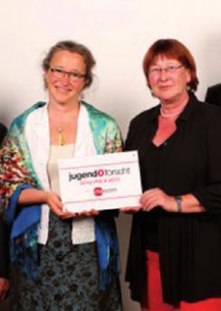 Jugend-forscht-Betreuerinnen Andrea Ruhm und Christiane Broschk