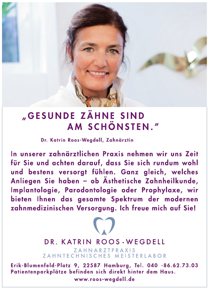 Dr. Katrin Roos-Wegdell, Zahnarztpraxis