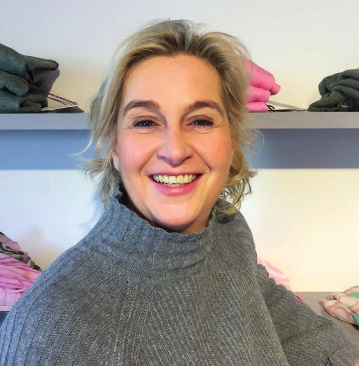 Alexandra Kenzler in ihrer Boutique