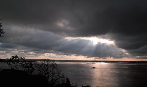 Schlechtes Wetter gibt's nicht, nur verschieden Gute FOTO: EGGERS
