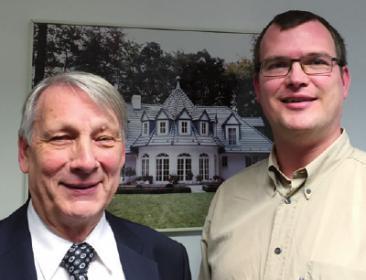 Martin Schneider und Tim Tonder von S & T Landhaus