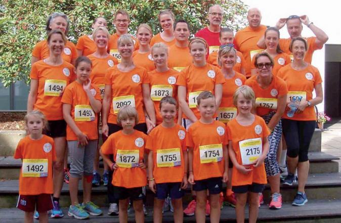 Die Heldenlaufteilnehmer aus dem Vorjahr