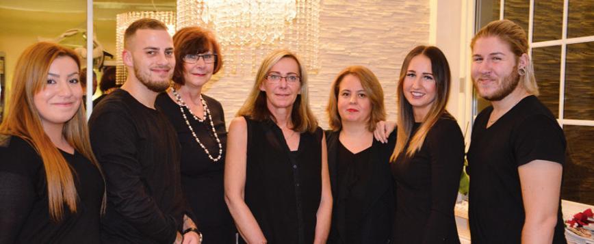 Das Team von GL Cut Beauty
