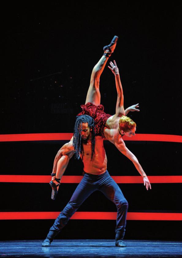 Ballett trifft Streetdance FOTO: NILZ BOEHME