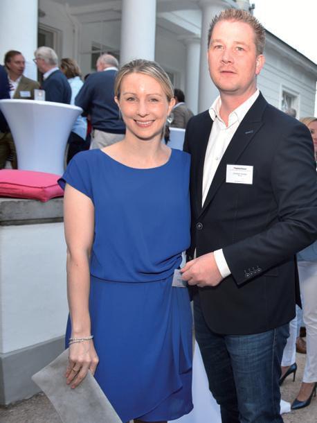 Sponsoren Nathalie und Christian Dunger (WDI AG)