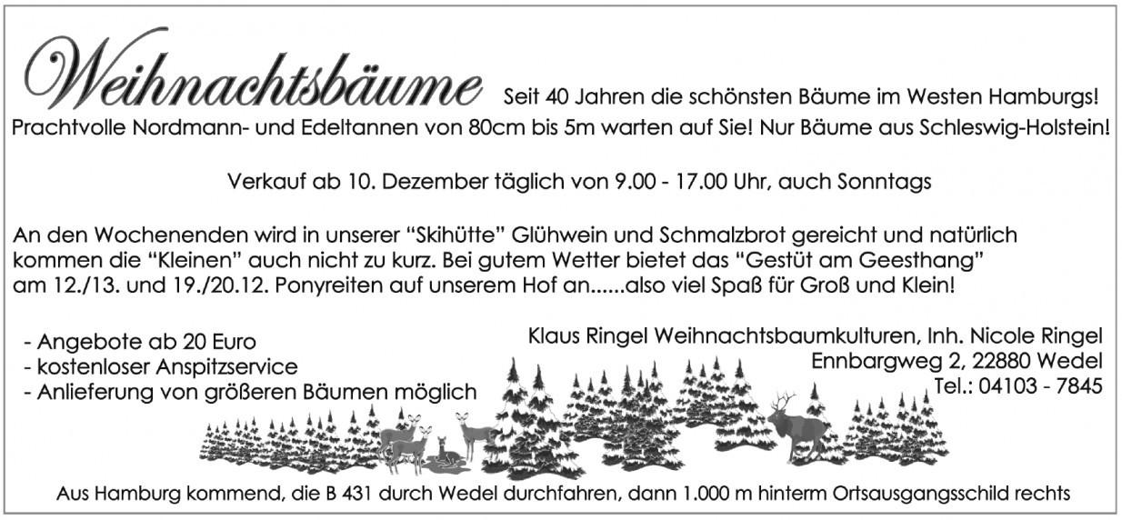 Klaus Ringel Weihnachtsbaumkulturen, Inh. Nicole Ringel