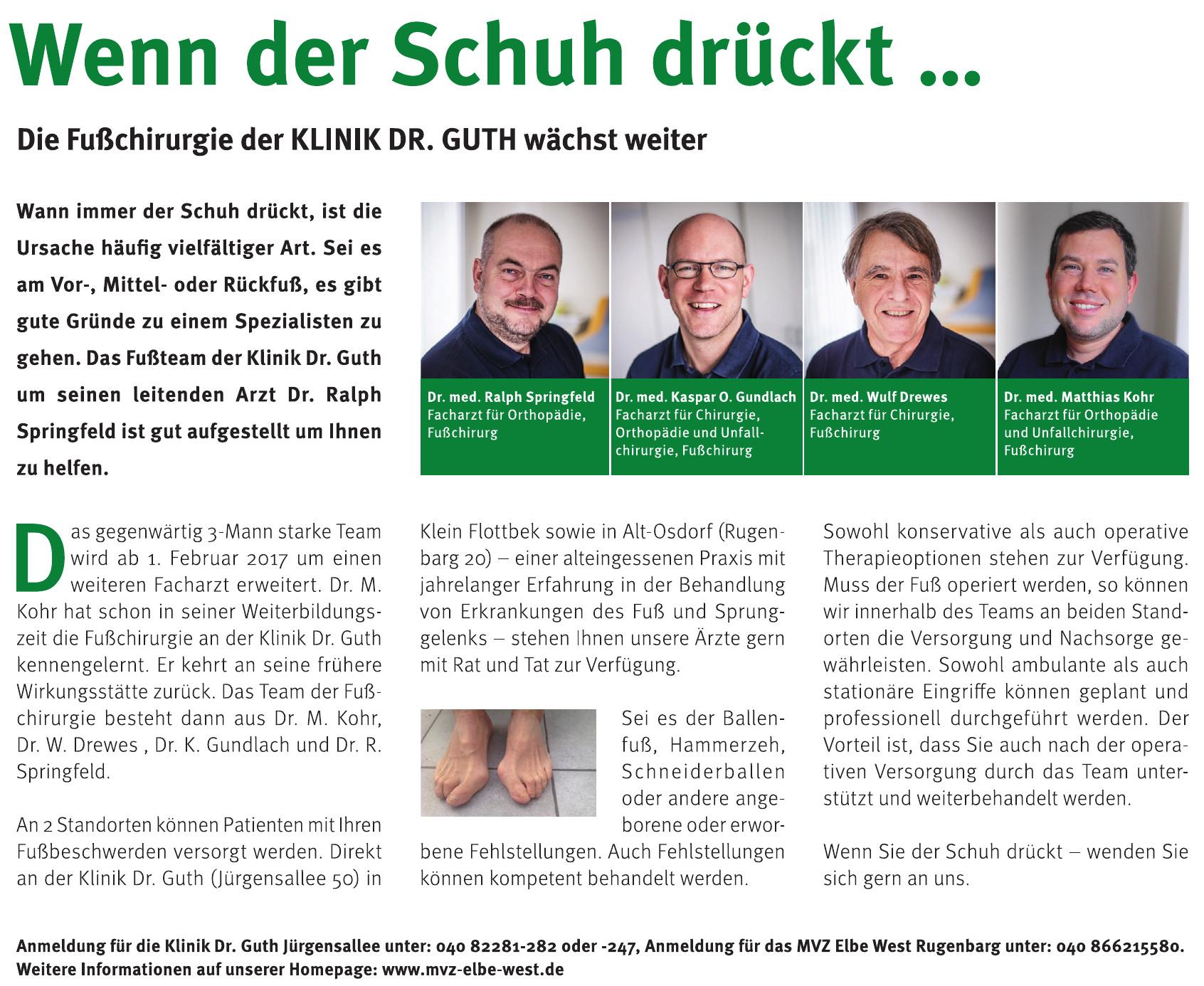 Klinik Dr. Guth Jürgensallee
