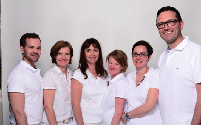 Dr. Johannes Bisschoff, Dr. Christine Bruning, Dr. Daniela Kasche, Dr. Kaike Schorsch, Dr. Susanne Chromik und PD Dr. Arnd Jacobi