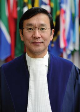 Präsident Jin-Hyun Paik aus der Republik Korea