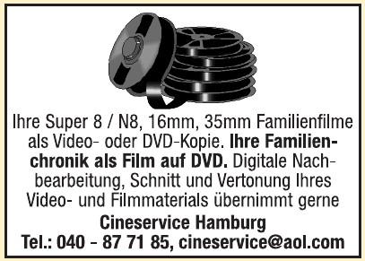 Cineservice Hamburg