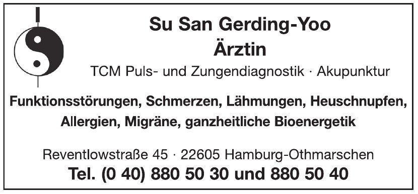 Su San Gerding-Yoo Ärztin