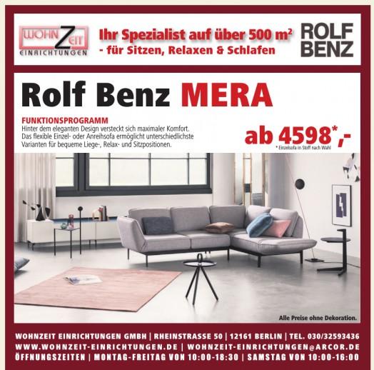 Rolf Benz Mera Wohnzeit Einrichtungen GmbH