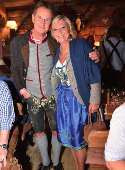 Hamburgs Mercedes-Chef Bernd Zierold mit Ehefrau Sabine