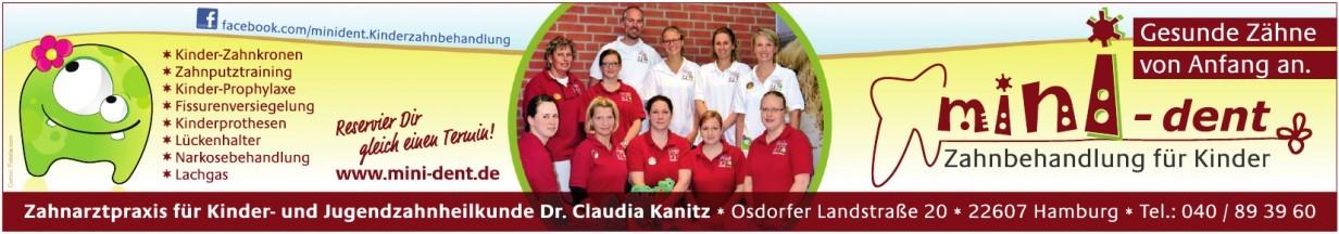 Zahnarztpraxis für Kinder- und Jugendzahnheilkunde Dr. Claudia Kanitz