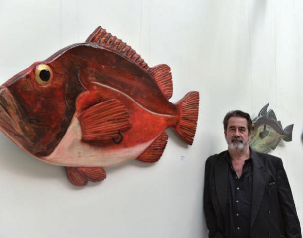 Der Künstler Tomas Roth bei Ravenborg