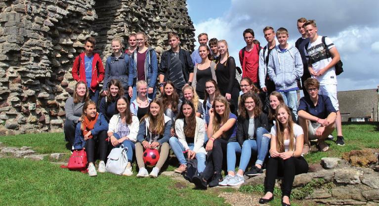 Impression eines Ausflugs nach Christchurch