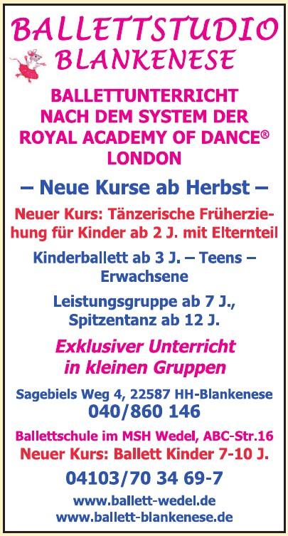 Ballettstudio Blankenese