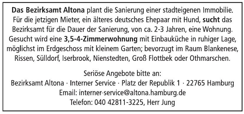 Bezirksamt Altona - Interner Service