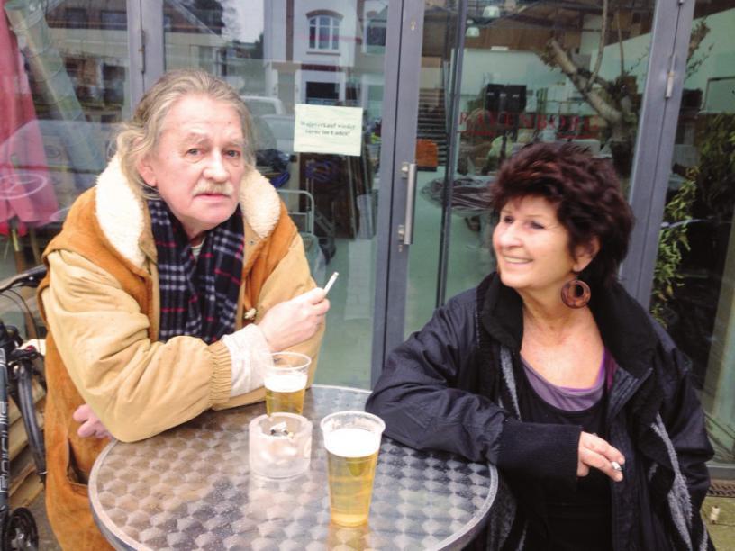 Jo Pauly und Birgit Gehrcke