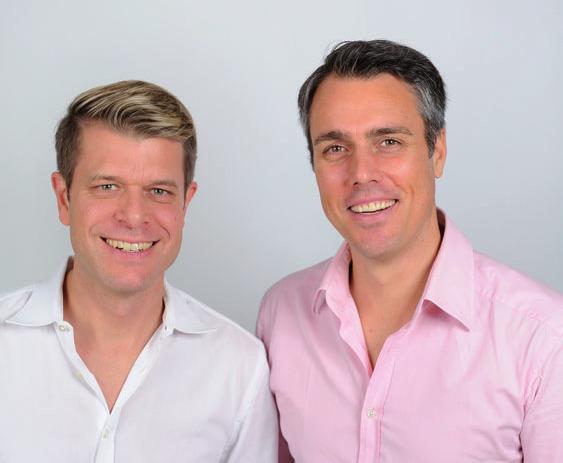 Geschäftsführer Ralf Trierweiler und Centerleiter Mark Raebricht FOTO: ©MARCO TRIERWEILER