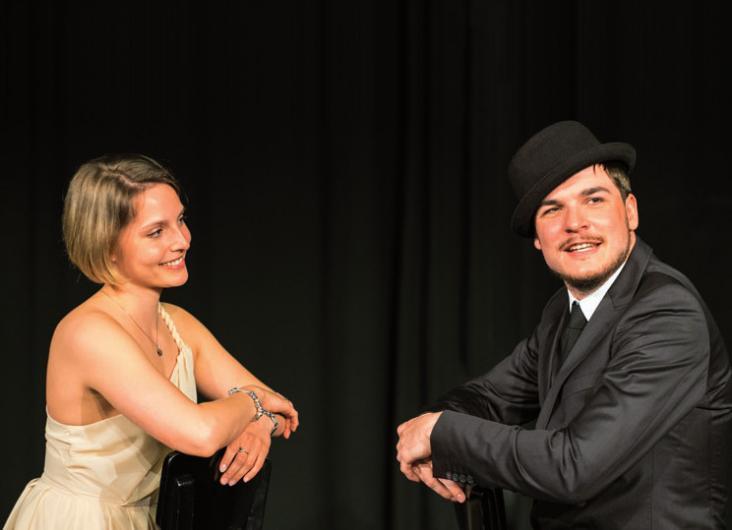 Die Schauspielschule bietet berufsbegleitende Trainings an FOTO: ©HANNS C. SIMONS