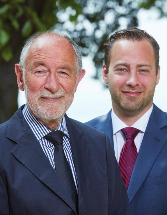 Peter M. Förster und Arne Meyer.FOTO: MALZKORNFOTO/HAMBURG