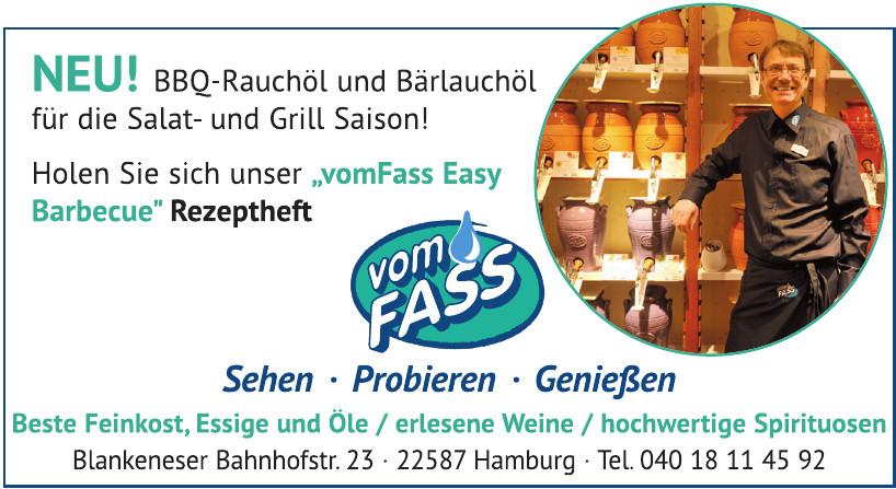 VOM FASS Hamburg-Blankenese Inh. Harald Kruse