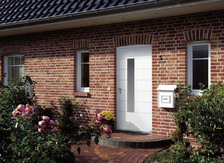 Stilvolle Haustür